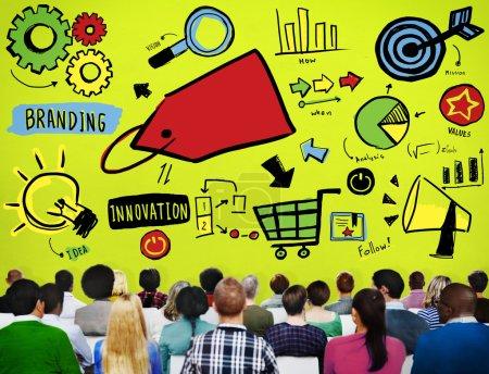Branding Marketing Advertising Concept
