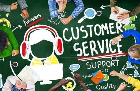 Customer Service Support Concept