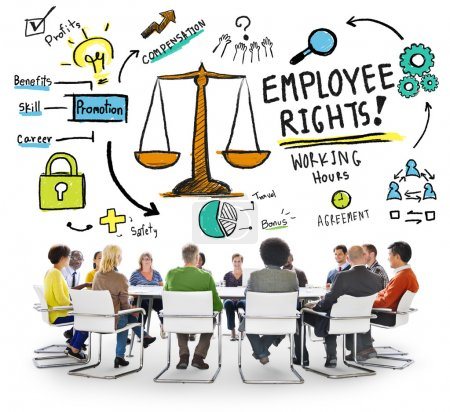Employee Rights Job People Meeting Concept