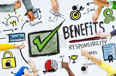 Benefits Gain Profit Concept