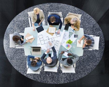 People Team Meeting Brainstorming Concept
