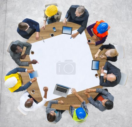 People Brainstorming Meeting Ideas Concept