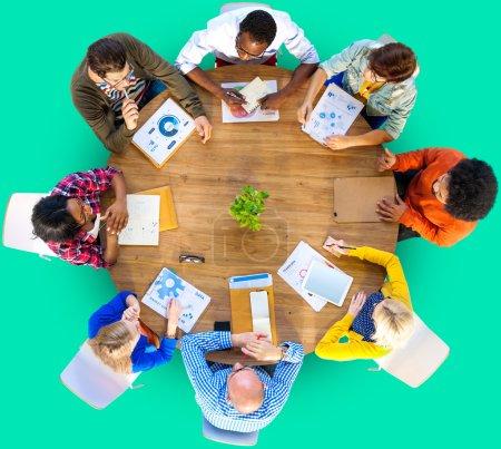 Meeting Data Analysis Concept