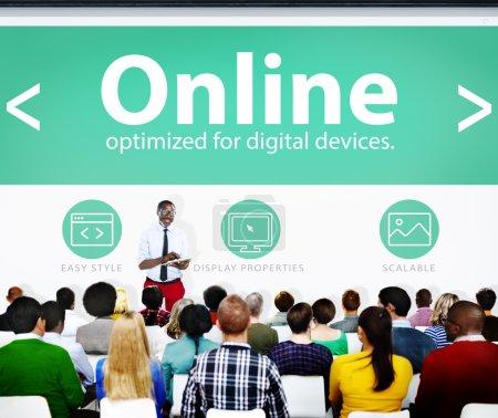digital online business konzept