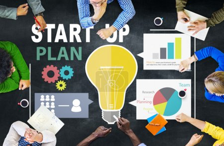 Start Up Business Plan Concept
