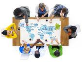 Talent odbornost génius dovednosti profesionální koncept