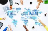 Talent odbornost Genius dovedností Professional