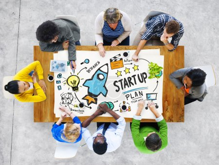 Start Up Business Success Meeting Concept