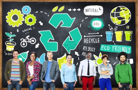 Recycle Reuse Reduce Bio Eco Friendly Environment