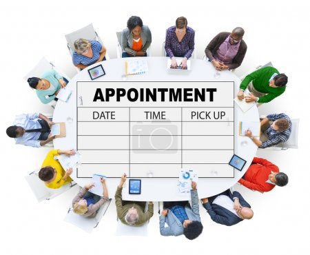 Photo for Appointment Schedule Memo, Management Organizer Urgency Concept - Royalty Free Image