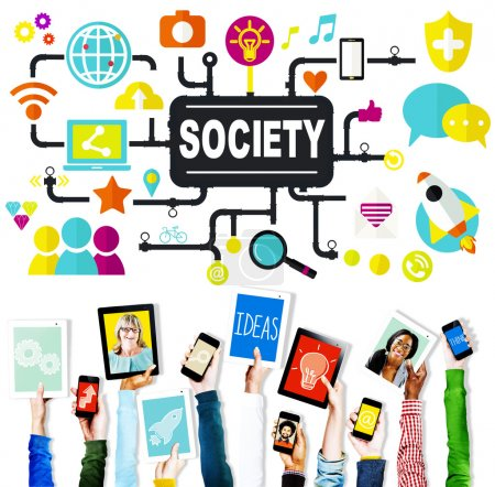 Society Community Global Concept