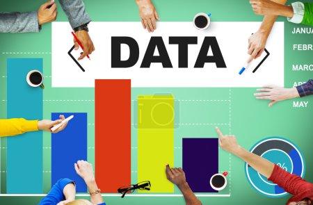 Data Analytics Chart Performance Concept