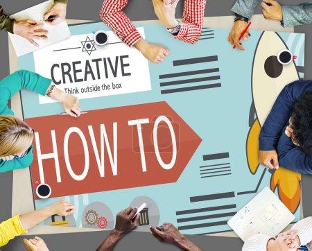 Creative Innovation Development Concept