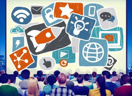 Social Media Startup Concept