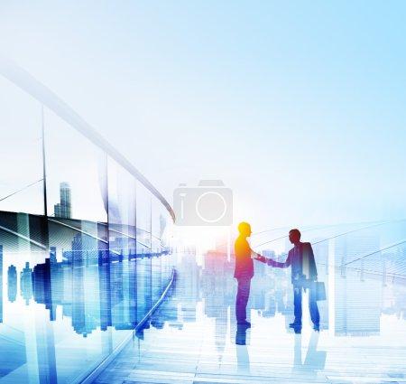 Businessmen Handshake Partnership Concept