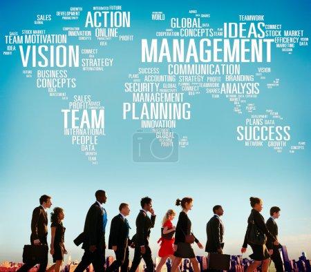 Management Vision Success Team Concept