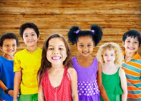 Children Diversity Group Concept