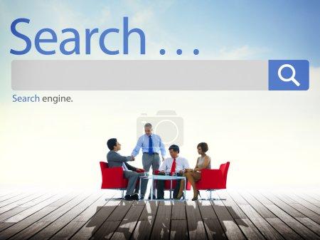 Search Seo Web Concept