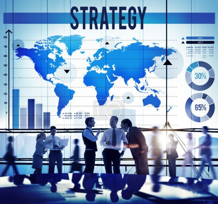 Strategy Business Development Concept