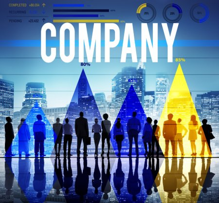 Business people  company collaboration concept