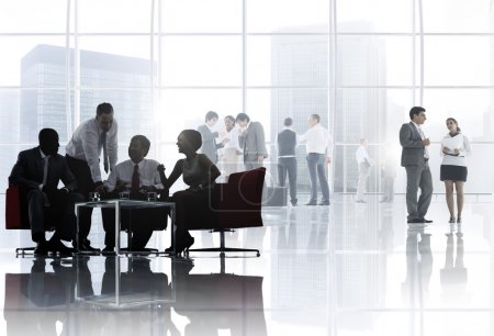 Business People Meeting Discussion Concept