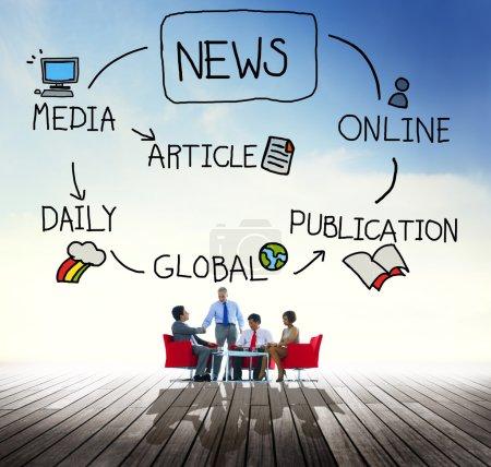 News Publication Concept