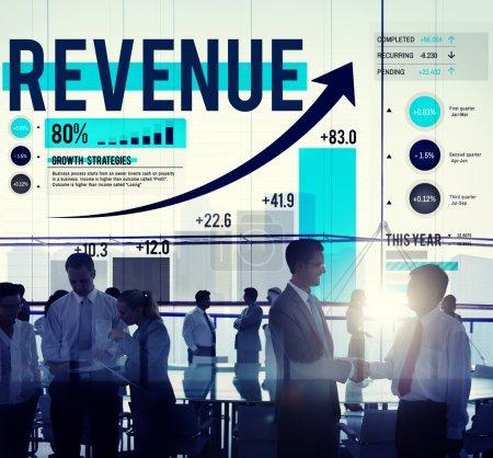 Revenue Finance Money Concept