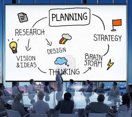 Plan Planning Development Concept