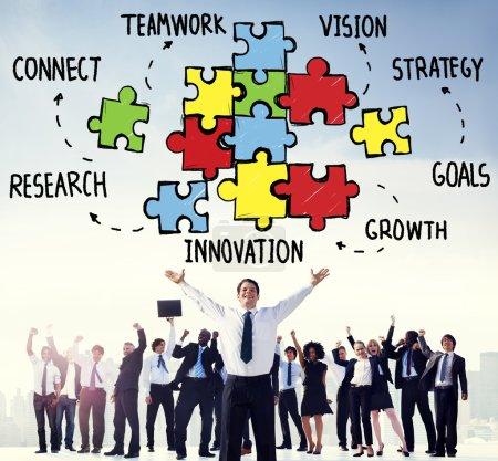 Teamwork Collaboration Concept