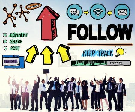 social networking konzept
