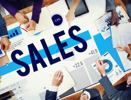 Discount Sales  Marketing Concept