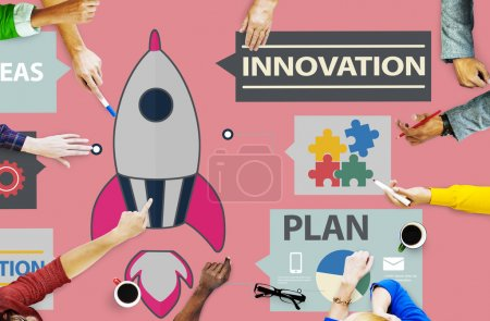 Innovation Start Up Success Concept