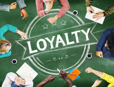 Loyalty Values Honesty Concept