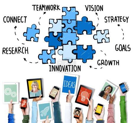Teamwork Unity Concep
