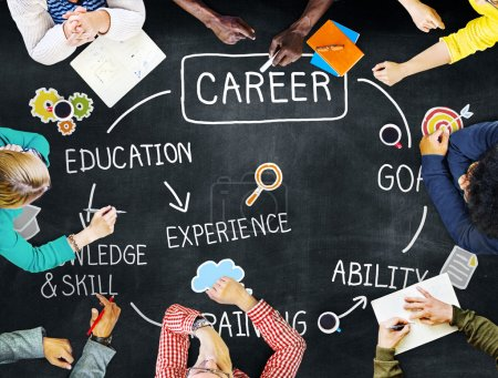 Photo for Career, Job Goal Expertise Skill Talent Concept - Royalty Free Image