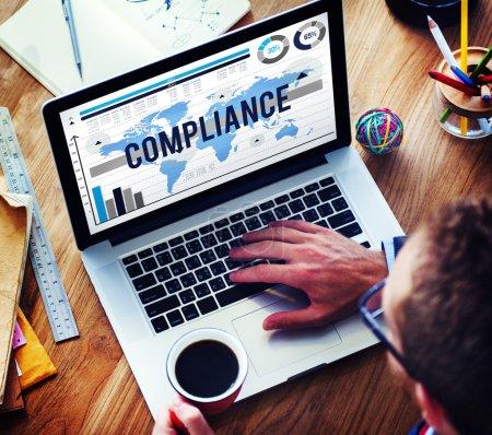 Compliance Agreement Acceptance Concept