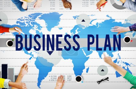 Business Plan Strategy Concept