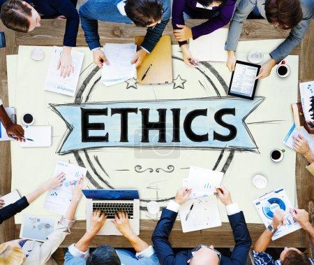 Ethics Integrity Concept