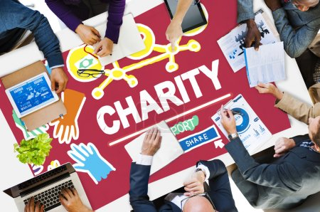 Charity Donation Concept