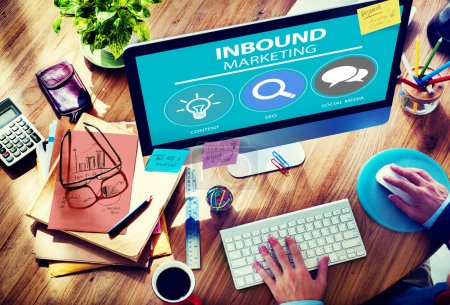 Inbound Marketing Strategy Advertisement Commercial Branding