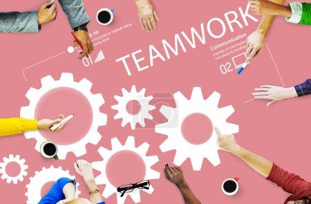 Teamwork Collaboration Unity Concept