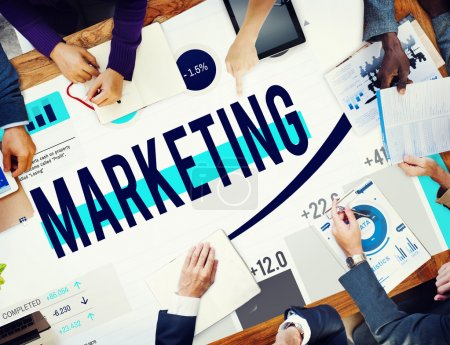 Marketing Strategy Planning Business Concept