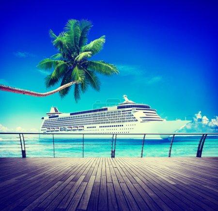 Summer Skylline Cruise Sea