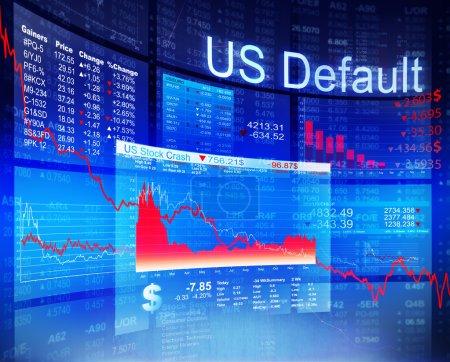 US Default Crisis Economic Stock Market