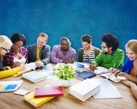 Meeting Corporate Designer Concept