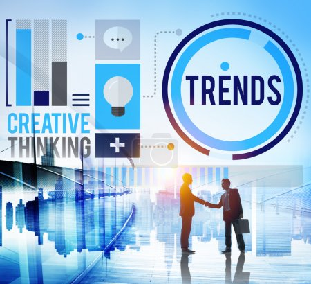 Marketing Contemporary Trending Concept
