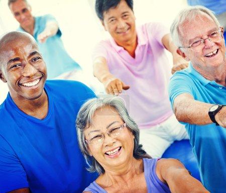 Seniors Adults Activity Concept