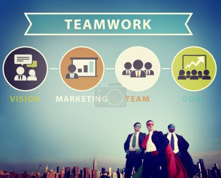 Businessmen and Teamwork Concept