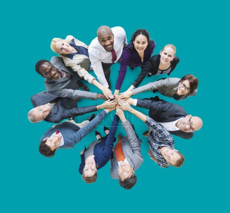 Business People Togetherness Friendship Concept