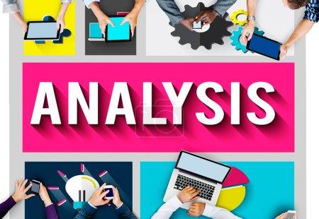 Analysis, Data Information, Statistics Concept